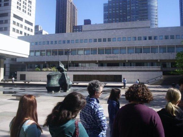 Look how prestigious we are, going to Juilliard. (2006)